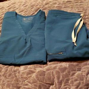 Sold on Ebay Figs Carribean Blue Med Petite Yola